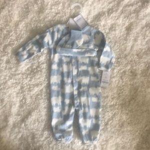 Baby boy sleeper set